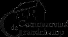 Grandchamp logo full transparent black 150